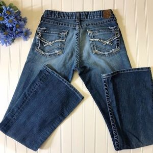 BKE Denim Sabrina Bootcut Stretch Jeans Size 28